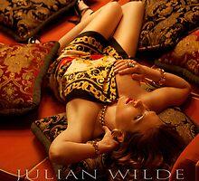 Tamara in Versace Silk. by Julian Wilde