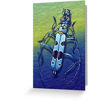 Super Beetle Greeting Card
