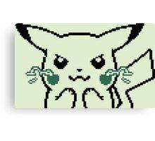 Pokemon Yellow - Pikachu Gameboy Canvas Print