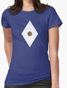 Triceratops Power Coin - Mighty Morphin Power Rangers - Cosplay Womens Fitted T-Shirt