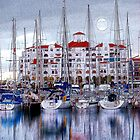 GIBRALTAR MARINA AND YACHTS ARTWORK by kfbphoto