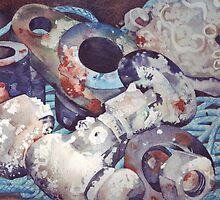 From Under the Sea - Detail by Val Spayne