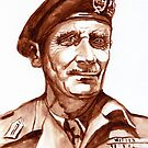 Montgomery Bernard Law - portrait. by Francesca Romana Brogani
