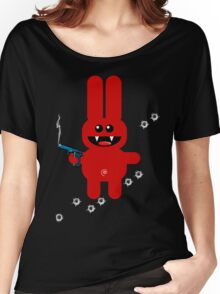 RABBIT 5 (Armed and highly dangerous!) Women's Relaxed Fit T-Shirt