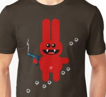 RABBIT 5 (Armed and highly dangerous!) Unisex T-Shirt