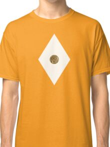 Sabretooth Tiger Power Coin - Mighty Morphin Power Rangers - Cosplay Classic T-Shirt
