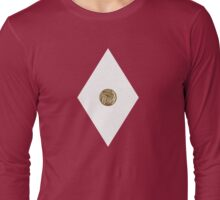 Tyrannosaurus Power Coin - Mighty Morphin Power Rangers - Cosplay Long Sleeve T-Shirt