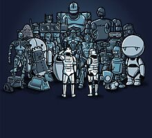 Robots by caolin333