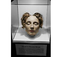 Mary Queen of Scots' Death Mask Photographic Print