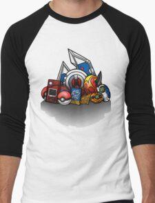 Anime Monsters Men's Baseball ¾ T-Shirt