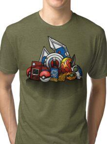 Anime Monsters Tri-blend T-Shirt