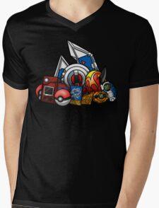 Anime Monsters Mens V-Neck T-Shirt