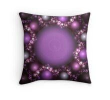 Purple Gems Throw Pillow