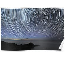Flinders Star Trails: Ring Effect Poster