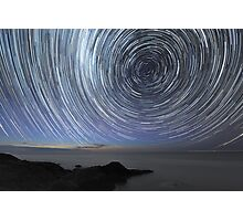 Flinders Star Trails: Ring Effect Photographic Print