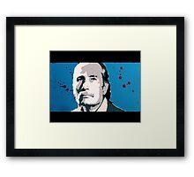 Reservoir Dogs- Mr. Blue Framed Print