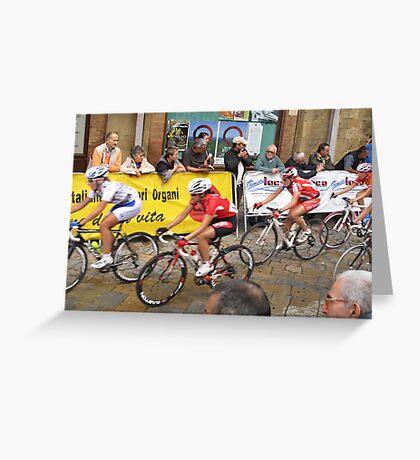 Giro Tuscana 2009 Greeting Card