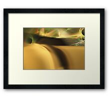 Sensual Dune Electric Sky Framed Print