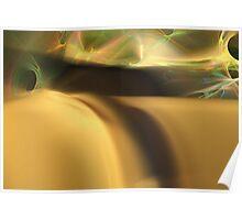 Sensual Dune Electric Sky Poster