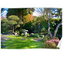 Lovely Japanese Garden... Poster