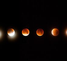 Super Blood Moon by Marie Carr