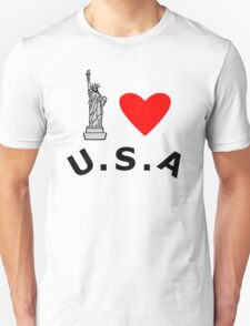 I Heart United States of America T-Shirt