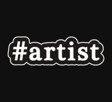 Artist - Hashtag - Black & White Kids Tee