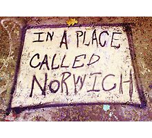 Norwich, England - Urban Art Photographic Print
