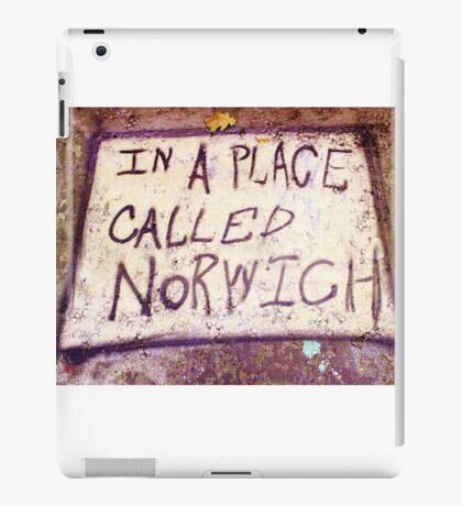 Norwich, England - Urban Art iPad Case/Skin