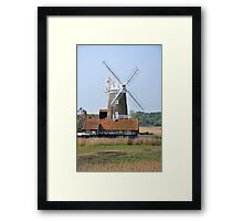 Cley Windmill from the east Framed Print