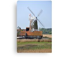 Cley Windmill from the east Canvas Print