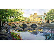 Westport Bridge County Mayo Photographic Print