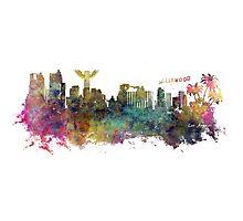 Los Angeles skyline Photographic Print