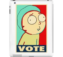 """Rick and Morty """"Vote for Morty"""" iPad Case/Skin"""