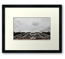 Bridge at Chandrma Uddyan , Dhaka, BANGLADESH  Framed Print