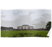 The Parliament house BANGLADESH Poster