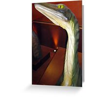 Staggering Troodon Greeting Card