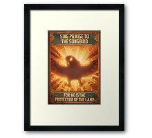 BioShock Infinite – Sing Praise to the Songbird Poster Framed Print