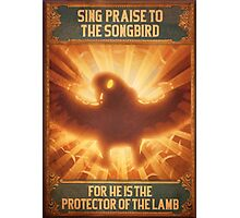 BioShock Infinite – Sing Praise to the Songbird Poster Photographic Print
