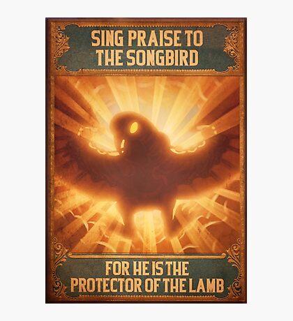 BioShock Infinite – Sing Praise to the Songbird Poster Photographic Print