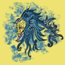 Blue Friction Pheonix by 9T9T Clothing