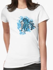 Blue Friction Pheonix Womens Fitted T-Shirt
