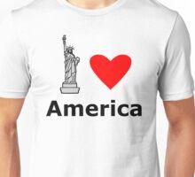 I Love America Unisex T-Shirt