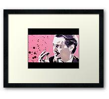 Reservoir Dogs- Mr. Pink Framed Print