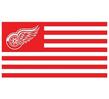 American Red Wings by SLEV