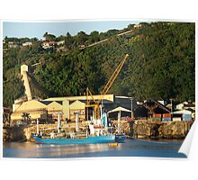Phosphates Bags Loading Poster