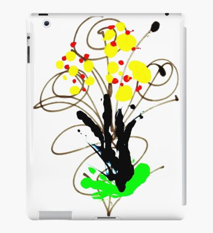 Flowers - Urban Art iPad Case/Skin