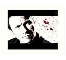 Reservoir Dogs- Mr. White Art Print