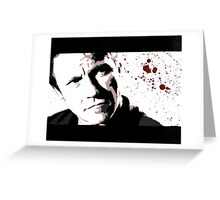 Reservoir Dogs- Mr. White Greeting Card