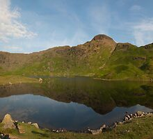 Easedale Tarn - Lake District by eddiej